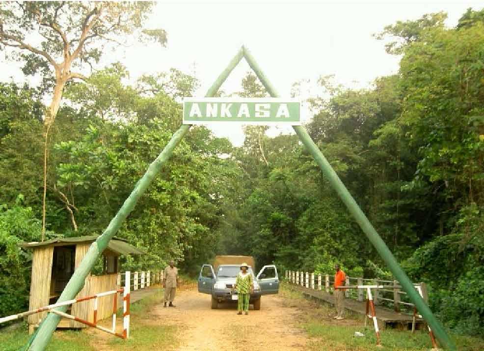 Ankasa Conservation Park entrance