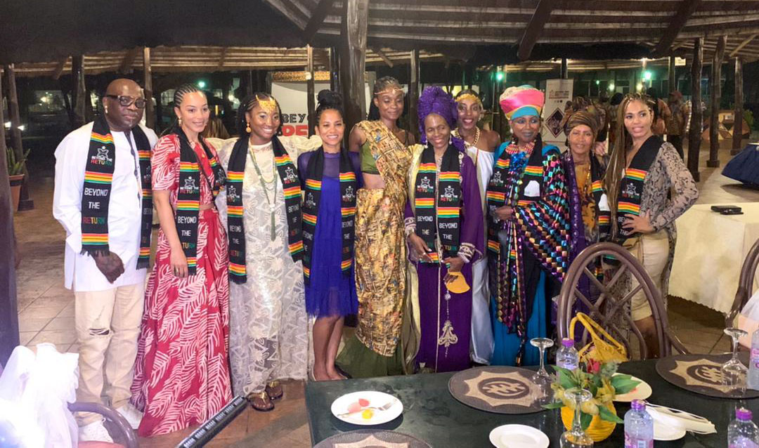 , QUEEN AFUA WELLNESS TOUR BRINGS AFRICAN AMERICANS HOME, BRAND ELMINA