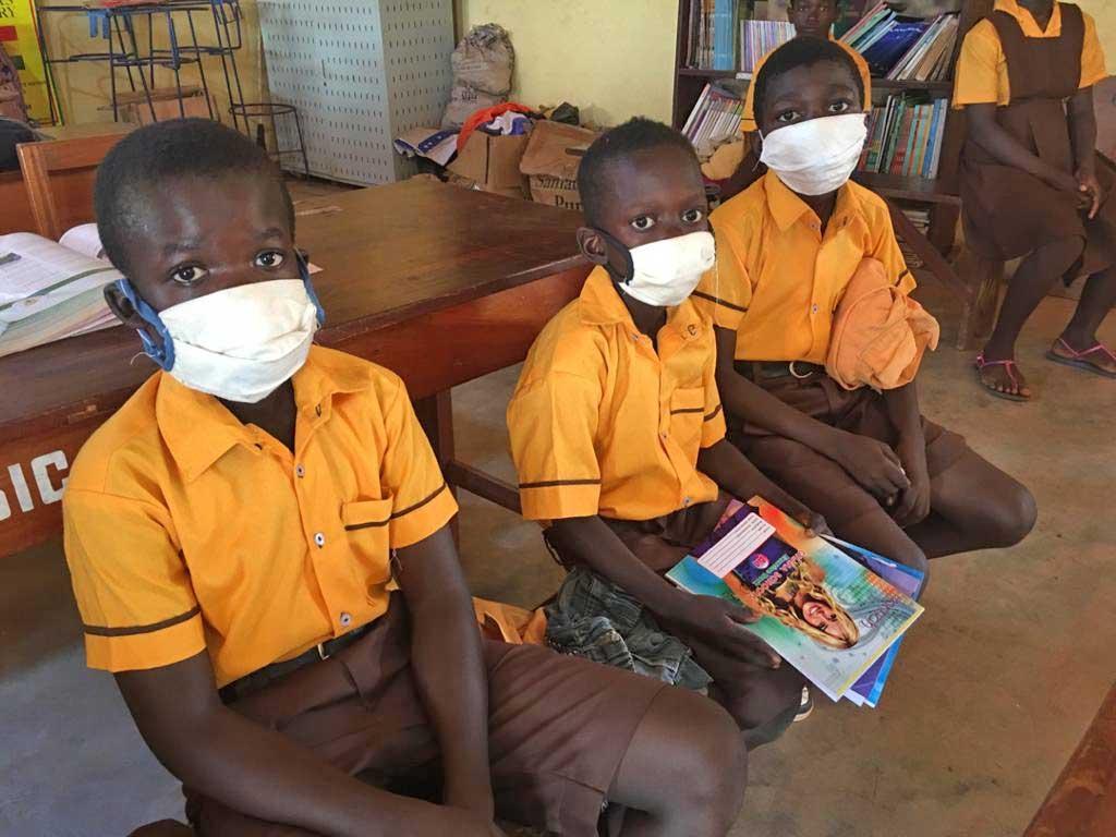 , 360 Human Rights donates school uniforms to pupils, BRAND ELMINA